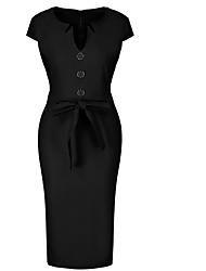 cheap -Women's Bodycon Dress - Animal Black Royal Blue Red S M L XL