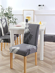 cheap -Chair Cover Plants / Contemporary Printed Polyester Slipcovers