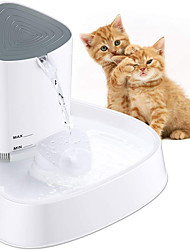 cheap -Shell Pet Water Dispenser Active Oxygen Circulation Mute Cat and dog Universal Intelligent LED Light Water Dispenser