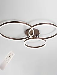 cheap -Modern Ceiling Light LED Flush Mount Lighting for Living Bed Room Kitchen Lamp 50/40/30cm Rings