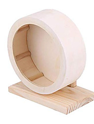 Недорогие -маленькие животные упражнение колесо хомяк животные деревянный отдых гнездо играющая игрушка