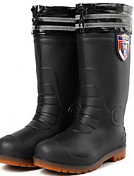 cheap -Men's PVC Fall & Winter Boots Waterproof Mid-Calf Boots Black / Blue