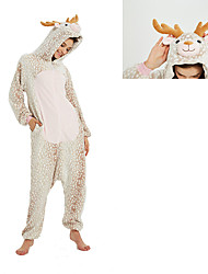 cheap -Reindeer Outfits Women's Adults' Costume Party Christmas Christmas Coral fleece Hoodie