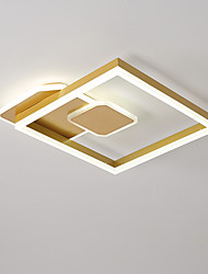 cheap -45 cm Geometric Shapes Flush Mount Lights Aluminum Painted Finishes LED Modern 110-120V 220-240V
