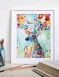cheap -elk deer diamond mosaic painting full moose rhinestone embroidery animal diamond art draw picture puzzle wall paper home decor 40x50cm