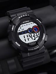 cheap -Men's Sport Watch Automatic self-winding Casual Water Resistant / Waterproof Digital Black / One Year / Rubber / Japanese / Calendar / date / day / Stopwatch