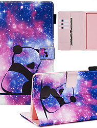 cheap -Phone Case For Samsung Galaxy Back Cover Samsung Tab A 8.0(2019)T290/295 Samsung Tab A8(2019)P200/205 Dustproof with Stand Flip sky PU Leather