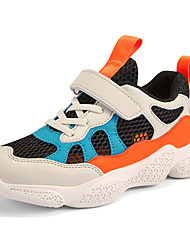 cheap -Boys' / Girls' Comfort Mesh Trainers / Athletic Shoes Little Kids(4-7ys) / Big Kids(7years +) Running Shoes / Walking Shoes Pink / Orange / Green Summer / Fall / Color Block / Rubber