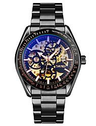 Недорогие -Skmei 9194 механические часы полный скелет часы из нержавеющей стали