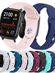 cheap -Watch Band for Amazfit GTS Xiaomi Sport Band Silicone Wrist Strap