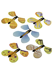 cheap -Flying Butterfly Magic Props Butterfly Lovely Novelty Kawaii Plastic Elementary All Toy Gift 1 pcs