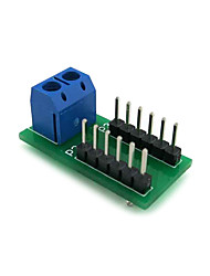 cheap -2.54mm Dupont Line Adapter Board 2P Terminal to 12P Pin Arrangement DIY Module