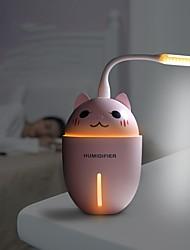 cheap -3 in 1  Air Humidifier Ultrasonic Cool-Mist Adorable Pet USB Mini Cute Humidifier With LED Light Mini USB Fan