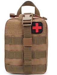 cheap -Oxford Cloth Zipper Emergency Survival Bag Color Block Daily Black / Gray Green / Orange