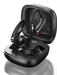 cheap -LITBest B10 TWS Earhook Sports Fitness Workout Headphones True Wireless Earbuds Wireless Stereo HIFI with Charging Box LED Power Display