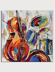 cheap -Hand Painted Canvas Oilpainting Abstract Still Life by Knife Home Decoration with Frame Painting Ready to Hang
