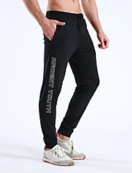 cheap -Men's Jogger Pants Joggers Running Pants Track Pants Sports Pants Athletic Athleisure Wear Bottoms Sport Running Fitness Jogging Breathable Quick Dry Soft Black Letter / Stretchy