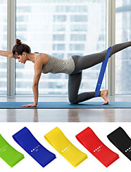 cheap -Resistance Loop Exercise Bands Sports A Grade ABS Plastic Emulsion EVA Pilates Exercise & Fitness Gym Workout Adjustable Durable Resistance Training Myofascial Release, Trigger Point Therapy, Muscle