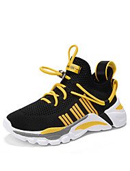 cheap -Boys' Comfort Knit Trainers / Athletic Shoes Little Kids(4-7ys) / Big Kids(7years +) Running Shoes / Walking Shoes Yellow / Orange / Green Summer / Fall / Color Block / Rubber