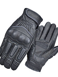 cheap -GHOST RACING motorcycle four season motorcycle gloves riding leather gloves retro Breathable professional  anti-drop touch screen