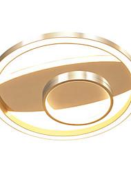 cheap -Nordic Creative Network Lighting Modern Golden Ring Living Room Topping 47 w