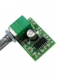 Недорогие -pam8403 5v цифровой усилитель плата 2x3 Вт переключатель потенциометра USB Power Audio