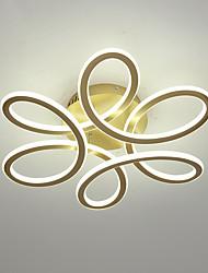 cheap -2-Light 55 cm Geometric Shapes Flush Mount Lights Aluminum Painted Finishes Artistic / LED 110-120V / 220-240V