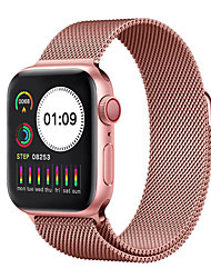 cheap -W5.0 Stainless Steel Fitness Tracker for Apple/ Samsung/ Android Phones, 1.54-inch Smartwatch Support Blood Pressure/ Heart Rate Monitor