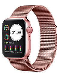 Недорогие -W5.0 фитнес-трекер из нержавеющей стали для телефонов Apple / Samsung / Android, 1,54-дюймовый SmartWatch Поддержка монитора артериального давления / сердечного ритма