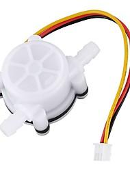 Недорогие -g1 / 4 дюйма 0,3-3 л / мин воды кофе поток холл датчик датчик расходомер расходомер