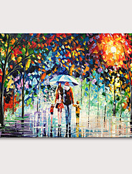 cheap -Mintura Large Size Hand Painted Abstract Knife Landscape Oil Paintings on Canvas Pop Art Wall Pictures For Home Decoration No Framed