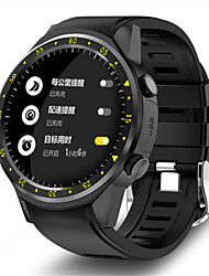 cheap -KING-WEAR F1 Men's Smartwatch Bluetooth Waterproof GPS Heart Rate Monitor Blood Pressure Measurement Camera Timer Pedometer Call Reminder Activity Tracker Sleep Tracker