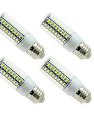 cheap -4PC E27 E14 LED Lamp LED Bulb SMD5730 Corn Bulb 72LEDs Chandelier Candle LED Light For Home Decoration Ampoule  220V or 110V