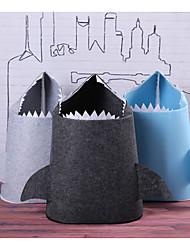 cheap -Textile Nonwoven Bag Oval Cute Adorable Home cloth Organization Storage box 1pc