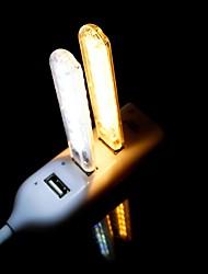 cheap -Mini USB LED Night Light Portable Reading Lamp 8 SMD 5730 DC 5V Book Lamp White Warm White for Computer Laptop *2