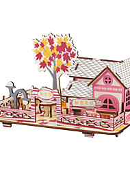 cheap -The Christmas Gift Smart House Sweet Cottage 3D Puzzles(34PCS)