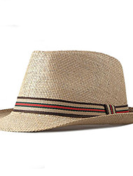 cheap -Headpieces Straw Headwear with Cap 1 Piece Daily Wear Headpiece
