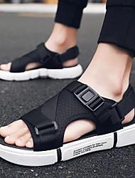 cheap -Unisex Mesh Spring & Summer Sporty / Preppy Sandals Walking Shoes Waterproof Black / White / Gold