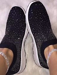 cheap -Women's Sneakers Summer Flat Heel Closed Toe Daily PU White / Black / Pink