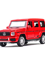 cheap -1:32 Toy Car Music Vehicles Car SUV Climbing Car Glow Office Desk Toys Parent-Child Interaction Zinc Alloy Rubber All Boys and Girls / Kid's