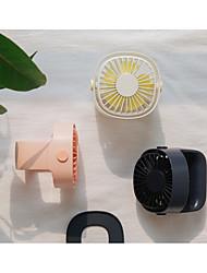 Недорогие -переносной USB-вентилятор мини-клип настольный вентилятор бесшумный 3-х скоростной вентилятор домашний студенческий общежитие у рабочего стола офисный вентилятор