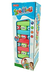 cheap -Puzzle Table Game Jenga Cartoon Decompression Toys Family Interaction Plastic Kid's Adults' Toy Gift 30 pcs