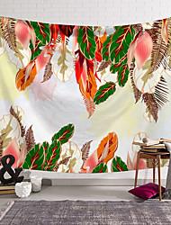 Недорогие -5 размеров перевозка груза падения кактус акварель висит настенные гобелены мандала богемный гобелен пейзаж обои стены искусства бросить платок