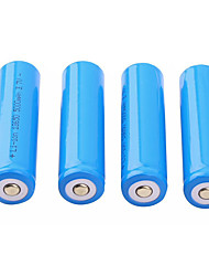 cheap -4 Pcs Stable 2200mAh 18650 3.7V Rechargeable Cell Li-ion Lithium Batteries Headlamp Torch Flashlight Bateria Replacement