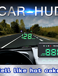 cheap -LITBest L3 4 inch LED 1208 x 1208 Wired 4 inch Head Up Display LED Indicator / Foldable / Alarm for Car Measure Driving Speed / Driving Speed / Display KM / h MPH