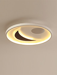 cheap -feimiao 2-Light 42 cm Circle Design Flush Mount Lights Metal Silica gel Painted Finishes LED / Modern 110-120V / 220-240V