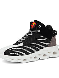 cheap -Men's Tissage Volant Spring & Summer Casual Athletic Shoes Running Shoes Breathable Black / Black / Red / White