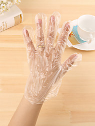 cheap -300pcs Disposable gloves Disinfection Cotton Health Care Health Care Traveling Simple Style