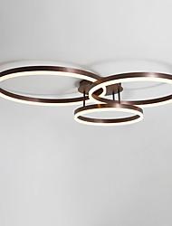 cheap -Modern Ceiling Light LED Flush Mount Lighting for Living Bed Room Kitchen Lamp 40/30/20cm Rings