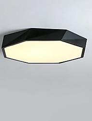 cheap -QIHengZhaoMing 50 cm Globe Design Flush Mount Lights Metal Painted Finishes Modern 110-120V / 220-240V
